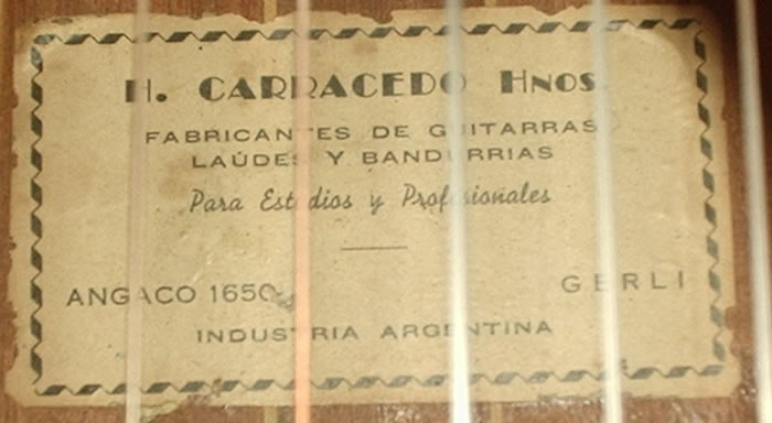 Hilario Carracedo y Hnos - 1930 decade